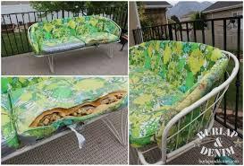 funky patio furniture. Incredible Design Ideas Retro Outdoor Furniture Makeover Burlap DenimBurlap Denim Funky Patio