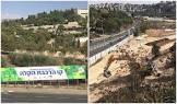 השבוע: העבודות להקמת הרכבת הקלה באזור גבעת מרדכי –חסימות באזור כביש בגין