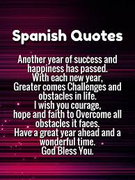 Inspirational Quotes In Spanish Magnificent 48 Happy New Year Quotes In Spanish 48 With English Translations