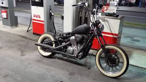honda shadow vt 600 bobber build youtube