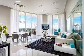 Modern Apartment Decorating Ideas Magnificent Black And White Decor  Panoramic Windows Adding Chic To 23