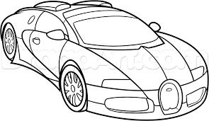 How to draw a bugatti veyron step 10