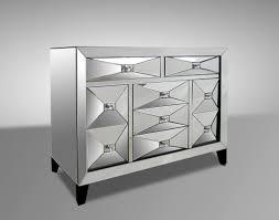 Mirrored Bedroom Dressers Contemporary Mirrored Dresser