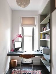 wall mounted home office. Storage Ideas For Small Spaces Home Office With Wall Mounted Desk And Bookshelf