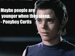 Ponyboy Quotes