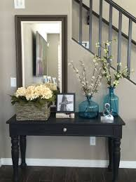 narrow foyer table. 37 Eye-Catching Entry Table Ideas To Make A Fantastic First Impression. Entryway Narrow Foyer