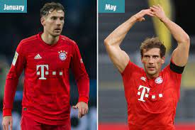 Bayern Munich star Leon Goretzka shows off incredible body transformation  and looks HENCH in just five-months