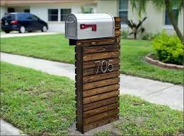 unique mailbox post. Brilliant Unique Mailbox Post Ideas Unique Diy Multiple   Inside Unique Mailbox Post