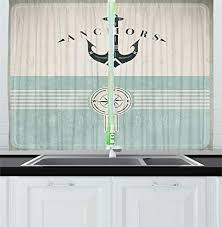 Nautical Kitchen Curtains