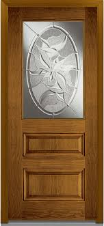 lasting impressions 1 2 lite 2 panel fiberglass oak 37 5 x81 75
