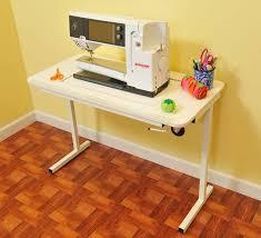 Amazon.com: Arrow Gidget II Home Indoor Adjustable Sewing Machine ... & Amazon.com: Arrow Gidget II Home Indoor Adjustable Sewing Machine Sturdy  Craft Table White: Arts, Crafts & Sewing Adamdwight.com