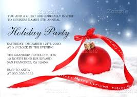 Sample Of Christmas Party Invitation Company Christmas Party Invitation Template Metabots Co