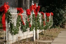 Nature: Christmas fence