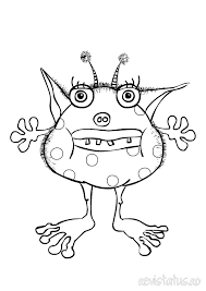 Small Picture monster colouring 4 Monsters for kiddies parties Pinterest