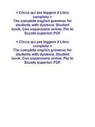 short english essays for students documents the complete english grammar for students dyslexia student book con espansione online