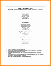 Resume Reference Page Best Of References For Resume Format Elegant