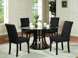 endearing pleasant dining table amazing glass kitchen set glass round dining table and chairs mesmerizing ideas
