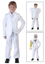 Child White Suit Costume