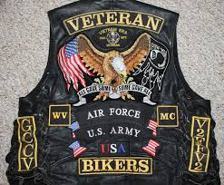 motorcycle vest patches pictures