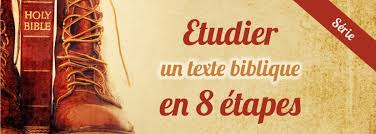 Etudier Un Texte Biblique En 8 étapes Introduction Bible Co