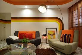 Small Picture Shagedelic Retro Apartment in Singapore Modern Living Room