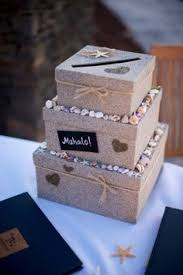beach themed two tier money card gift box perfect for a wedding Wedding Card Box Ideas Beach Theme homemade card box covered with sand and shells i picked myself comment if you wedding card box beach theme