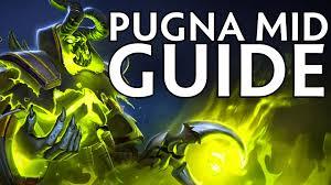 dota 2 guide build pugna mid lane youtube