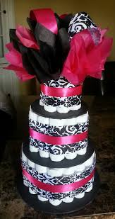 129 best Baby Shower - Damask images on Pinterest | Centerpieces ...