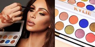 people think kim kardashian ripped off kylie jenner with her latest eyeshadow palette