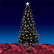 Black Fibre Optic Christmas Tree 6ft  Christmas Lights DecorationBlack Fiber Optic Christmas Tree