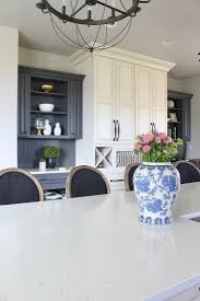 if i were to do my kitchen all over again i would absolutely go with this paint color i may even use it on some cabinets at the forest modern gray is