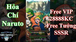 Game Mobile Private Hỏa Chí Naruto | Free VIP | 28888KC | Free Tướng SSSR