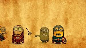 Minion Bedroom Wallpaper Minions Avengers Drawing 5346 Exclusive Hd Wallpapers For Desktop