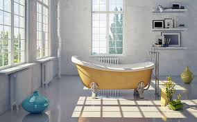 freestanding clawfoot bath