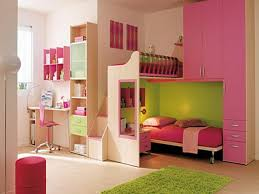 furniture for girls room. Bedroom, Innovative Modern Little Girls Bedroom Design With Pink And Lime Green Interior Color Decorating Furniture For Room