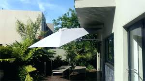 outdoor wall hanging umbrella cantilever patio mounted melbourne