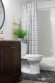 bathroom ideas farmhouse bathroom subway tile hexagon tile black tile rustic