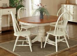country marketplace solid birch 42 round single pedestal table leaf