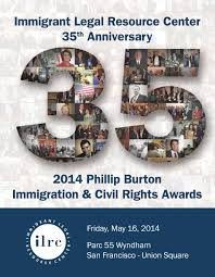 Ilrc Crimes Chart 2014 Phillip Burton Immigration Civil Rights Awards
