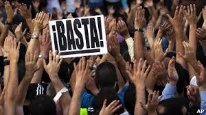 Resultado de imagen de protesta españa