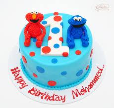 Elmo Cake Glaze Bakery