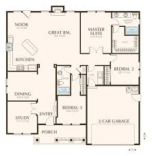 floor plan of a one story house. Simple One Story House Floor Plan Colored Plans Contemporary Ideas Of A