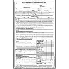 Purchase Agreement Vehicle Used Motor Vehicle Sale Or Purchase Agreement Stock Michael