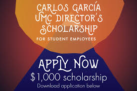 scholarships university memorial center university of  carlos garcia umc director s scholarship