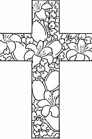 Small Picture Coloring Sheets Image Gallery Printable Cross Coloring Pages at