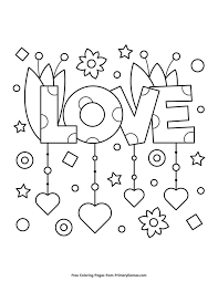 21 free valentines coloring pages of valentine hearts, balloons,funny faces, teddy bears, mamas, and poem greetings for sister by coloring buddy mike (you better not laugh, man). Pin On Printables