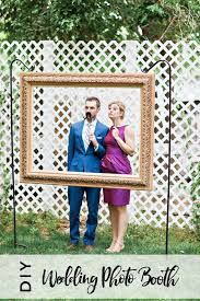 diy large digital photo frame best of diy wedding booth using an open back picture frame