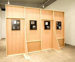 bed frames free standing wall pallet secure shelves freestanding divider frame shelving units horizontal parts beds