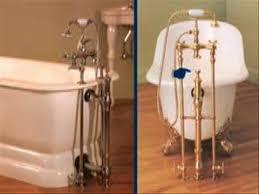 choosing a drain for a clawfoot tub