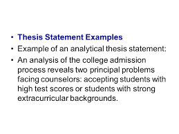 College Essay Thesis Top Thesis Statement Writing Service For College